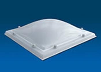 Polycarbonaat, 2-wandig, rechthoekig