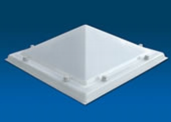 Acrylaat, 2-wandig, pyramidevorm  70X70