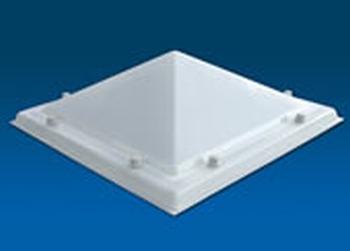 Acrylaat, 2-wandig, pyramidevorm  100X100